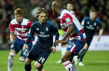 Granada 1-2 Real Madrid: Modric stunner snatches vital victory