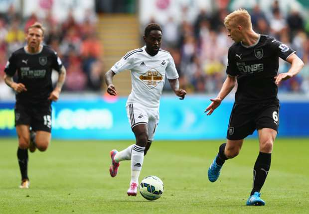 Swansea City's Nathan Dyer.