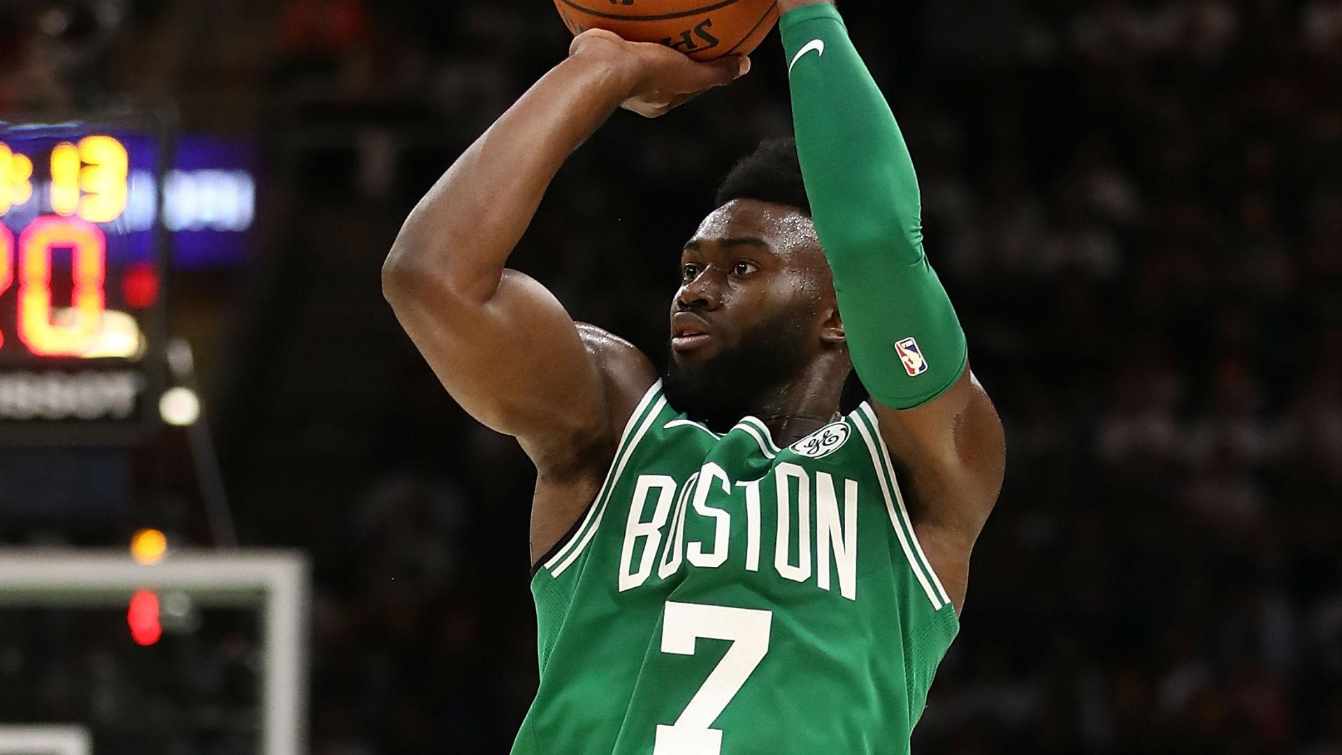 National Basketball Association  players send Celtics' Jaylen Brown prayers after terrifying fall