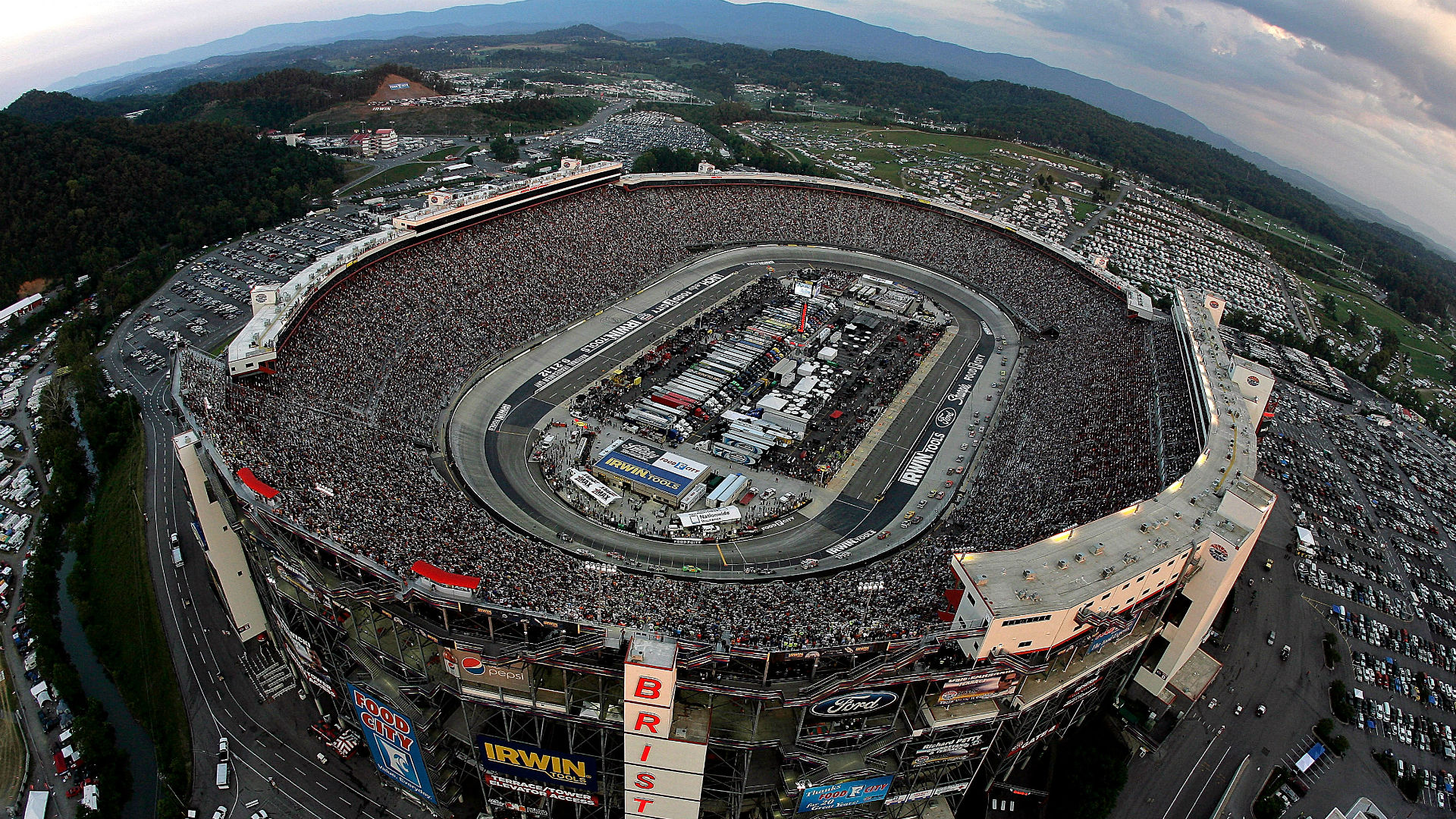 Night race at Bristol? Storms could force change in schedule
