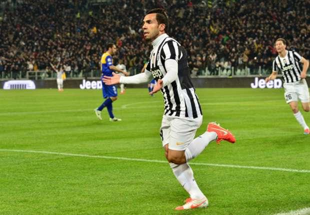Tevez surprised by debut Juventus season
