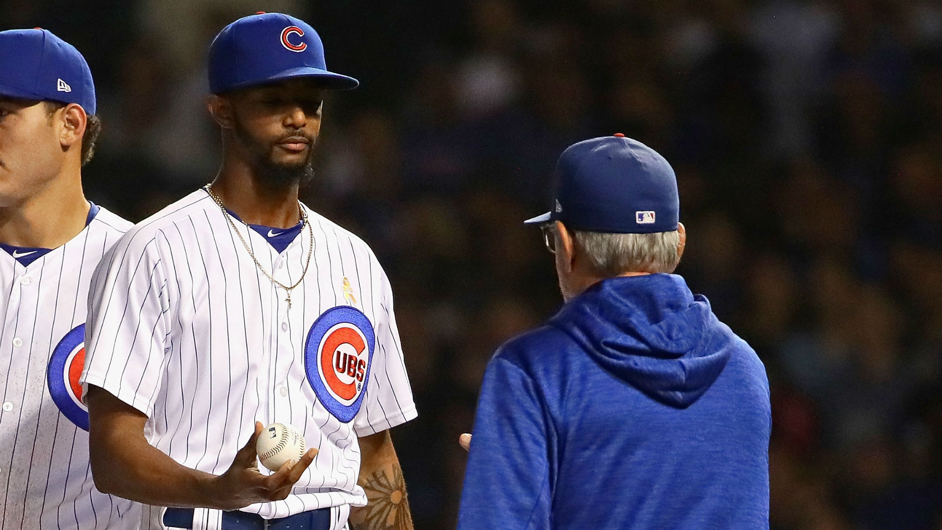 Cubs' NL wild-card game roster has Strop, not Edwards