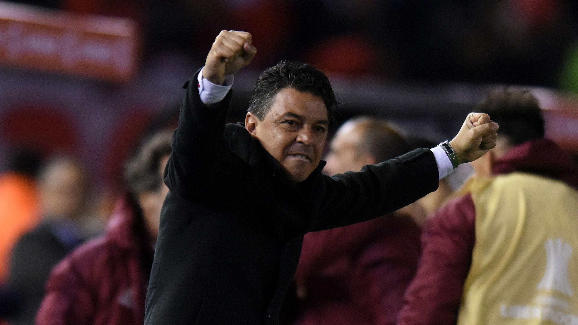 River Plate boss Marcelo Gallardo