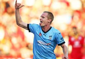 Sydney FC forward Matt Simon