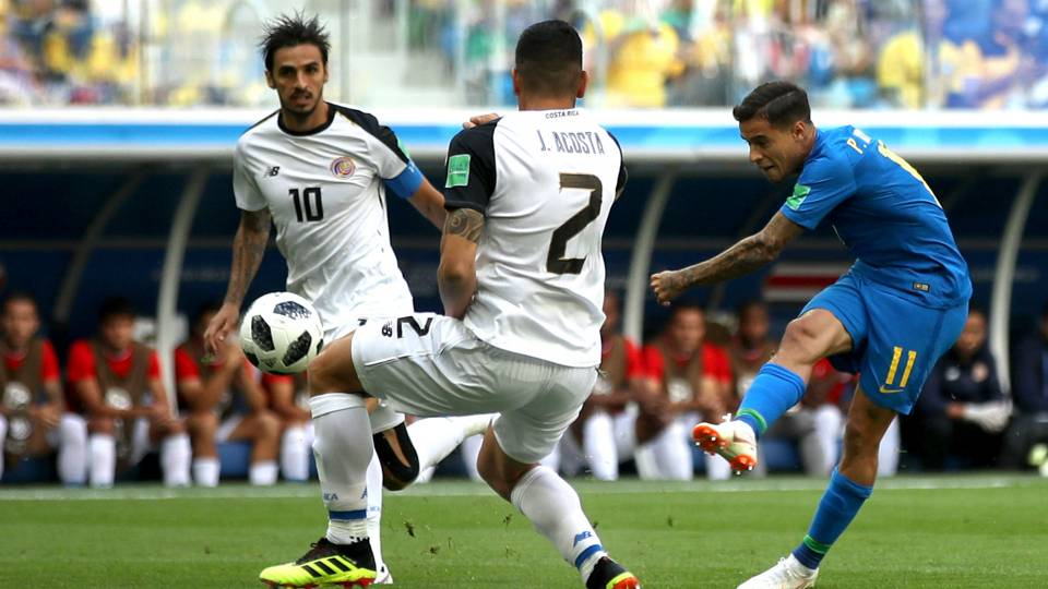 World Cup 2018 Brazil Es 2 0 Win Against Costa Rica