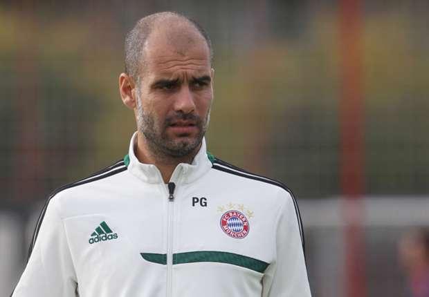 Guardiola not celebrating Bundesliga title yet