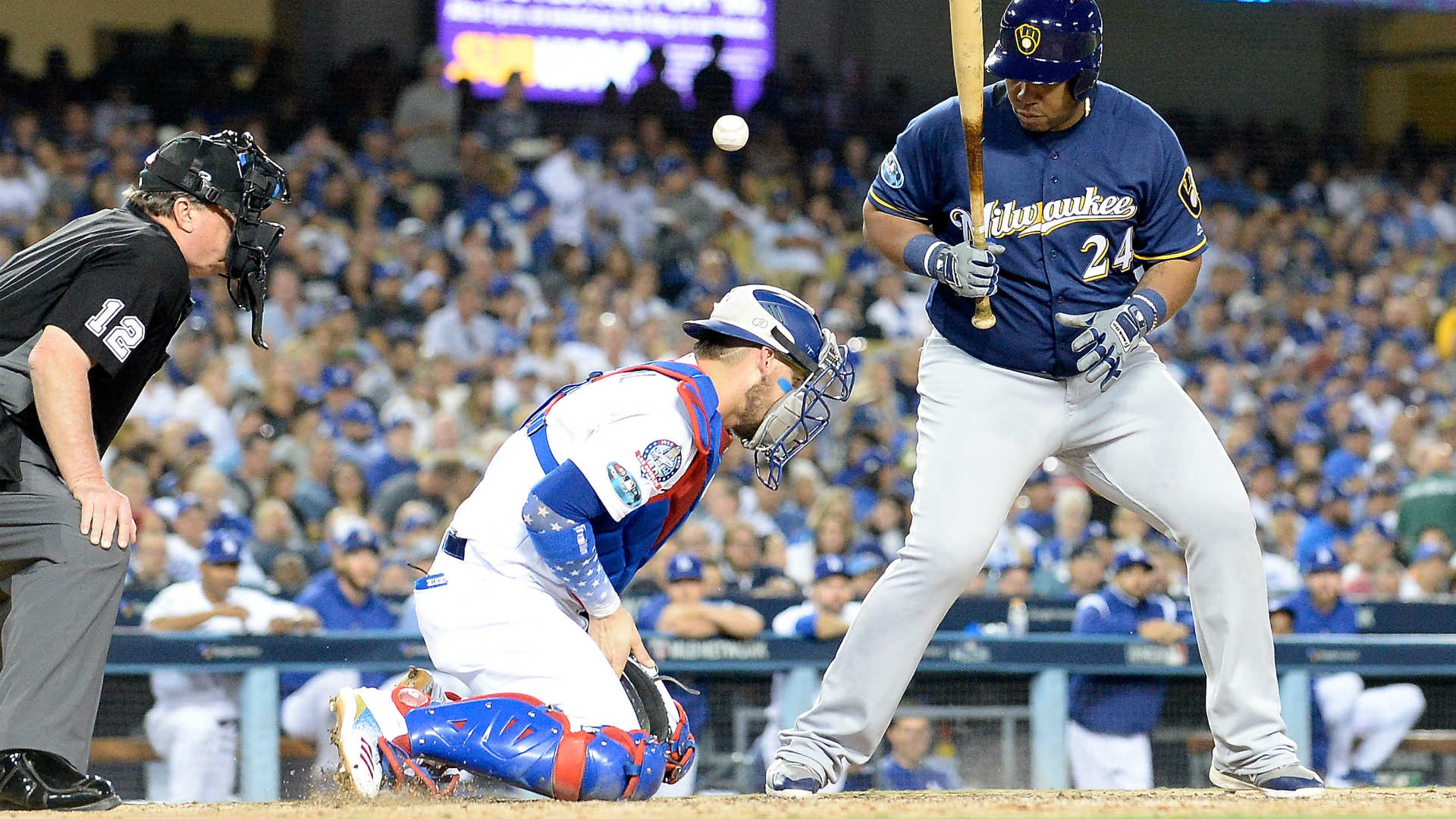 Brewers hold off the Dodgers to force Game 7 of the NLCS