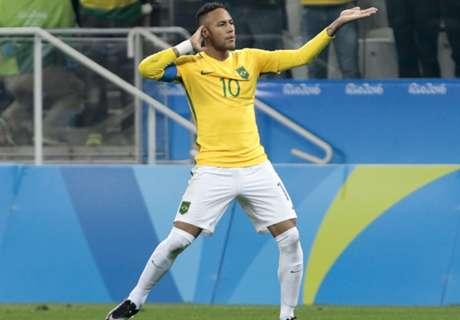 Rio 2016: Neymar leads Brazil