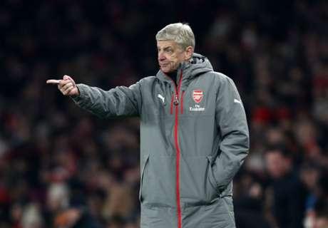 Wenger blasts 'weak' Arsenal