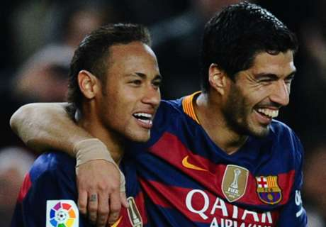 Suarez: Neymar will be world's best