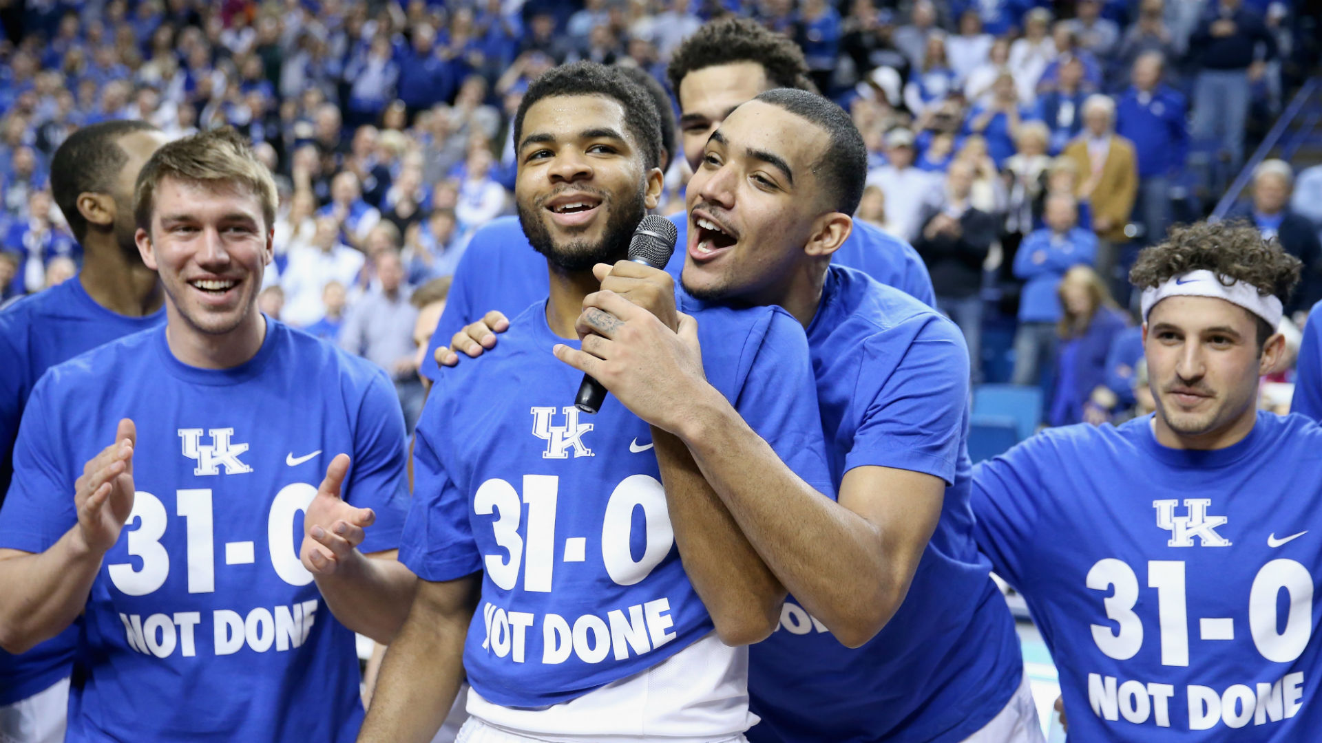 Members of Indiana's undefeated 1976 team are rooting for Kentucky