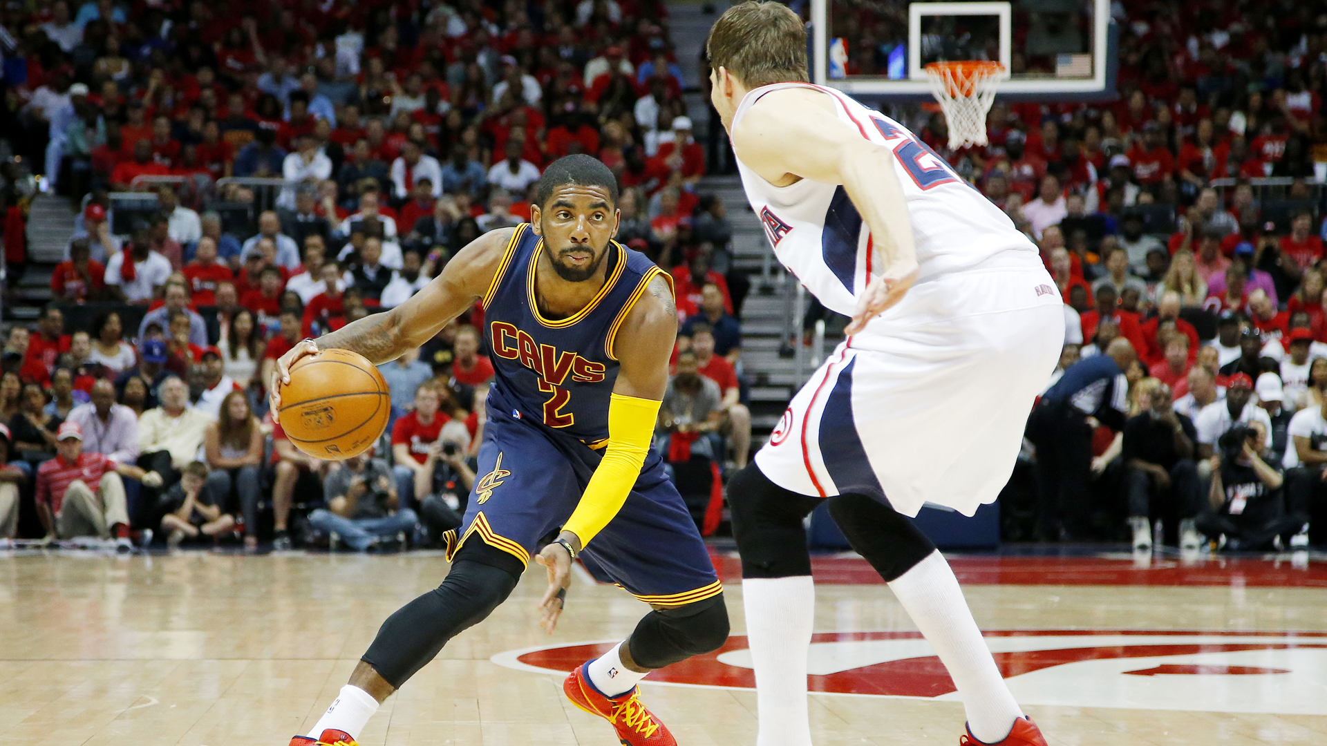 Basketball | Kyrie Irving 'questionable' for game three | SPORTAL