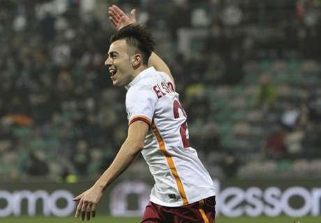 Sassuolo 0-2 Roma: El Shaarawy goal