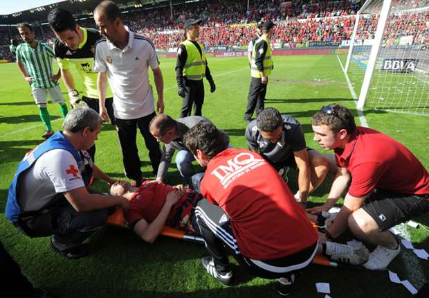 Barrier collapse injures 68 at Osasuna