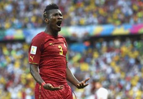 Asamoah Gyan está com malária
