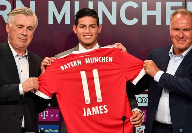 'The door to Real Madrid is still open' – James welcomes return to La Liga despite Bayern Munich transfer