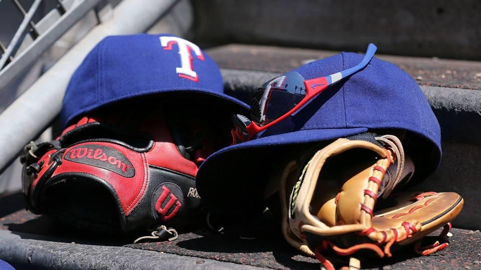 Texas Rangers caps