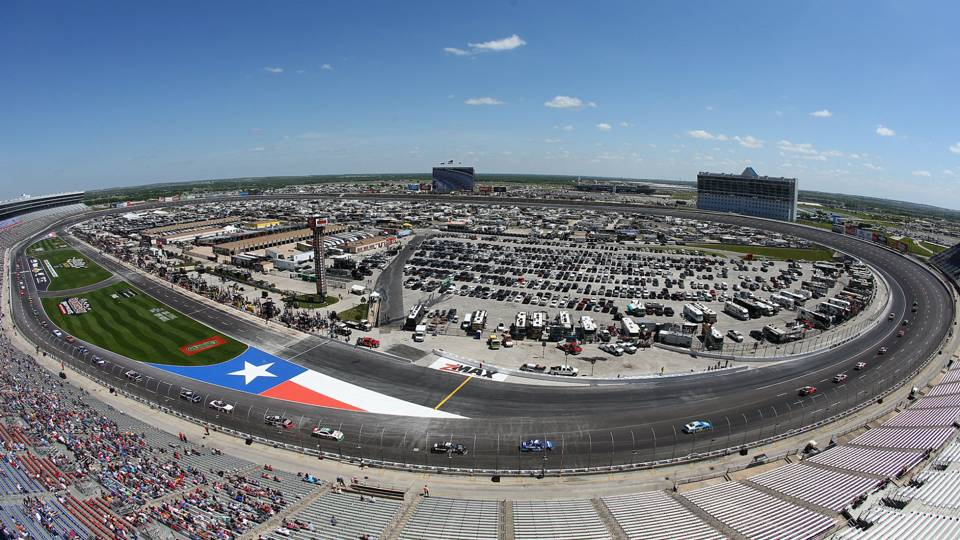 Nascar Cup Drivers Wary Before First Race At Repaved Texas