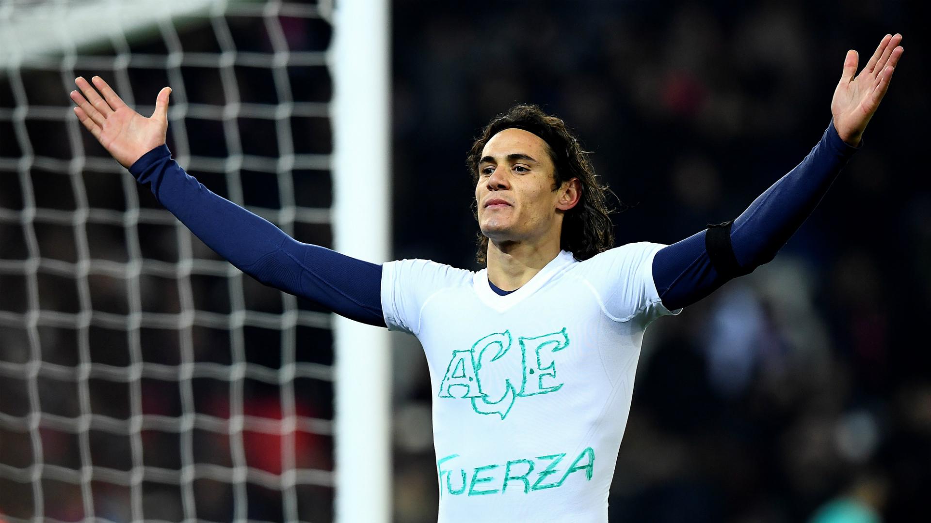 Emery wants Cavani to beat Ibra's PSG record