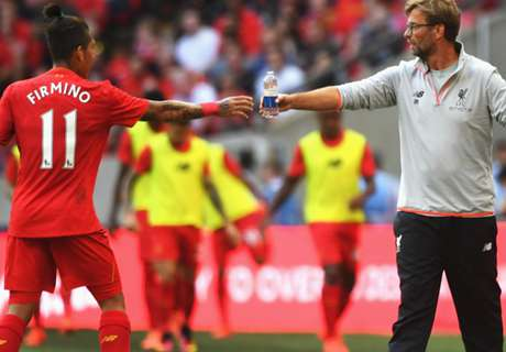 Klopp happy with Firmino centrally