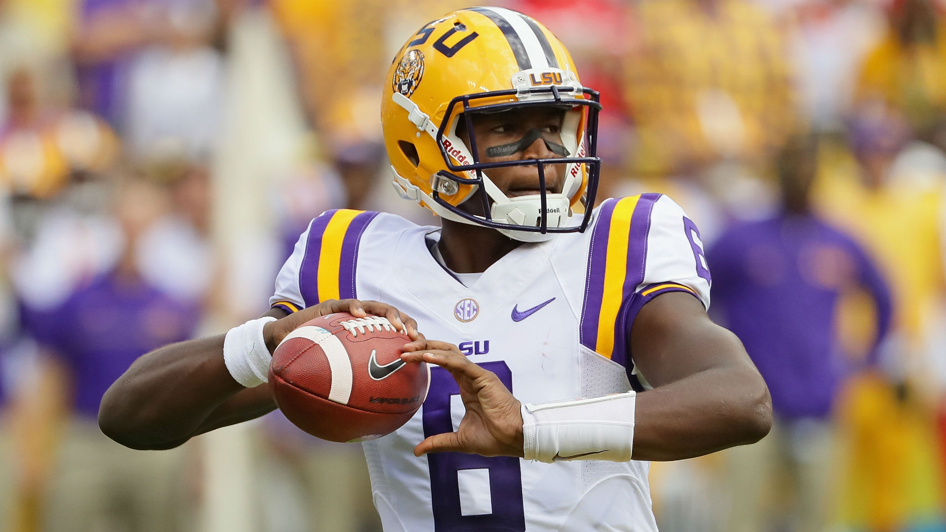 Former LSU starting quarterback Brandon Harris to transfer