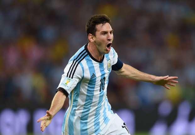 Messi marcó en el primer partido ante Bosnia