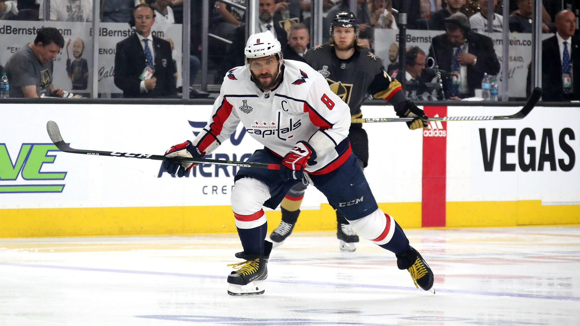 Capitals beat Vegas 3-1, lead Cup Final 2-1
