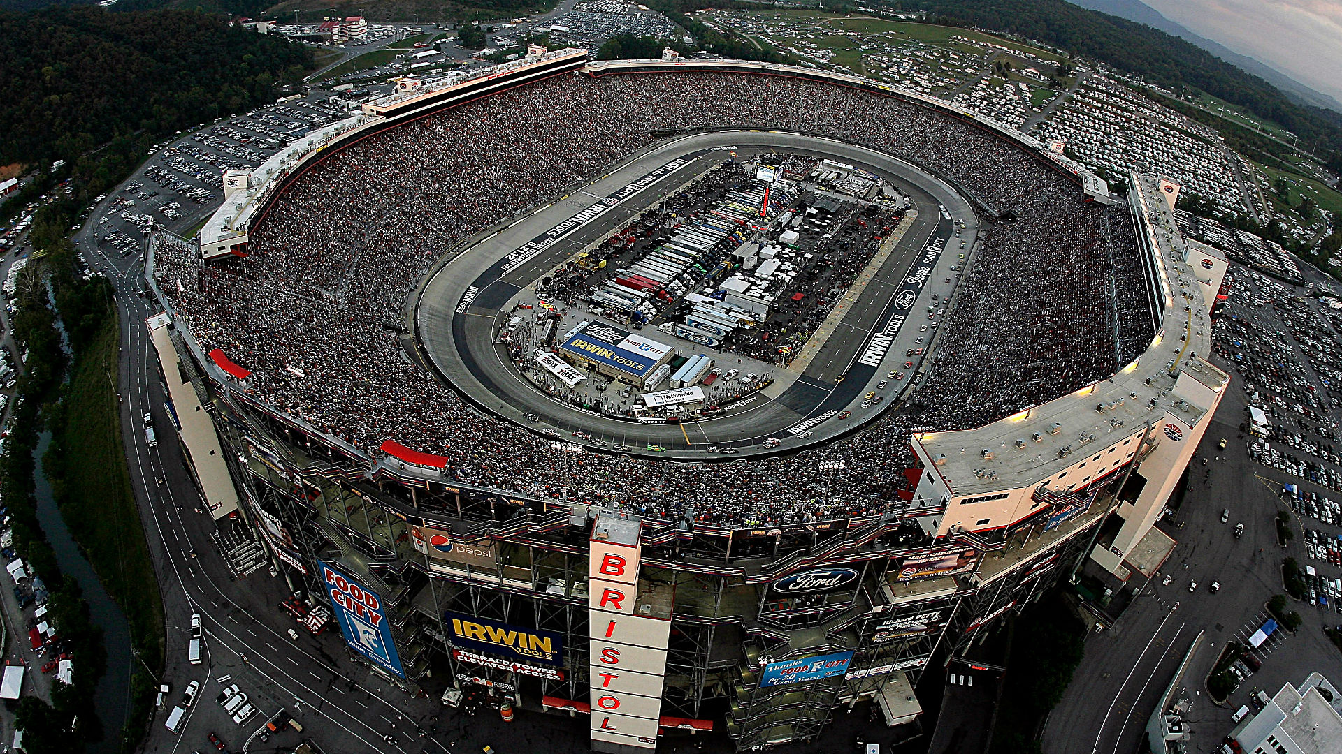 NASCAR at Bristol: TV schedule, forecast, qualifying ... Nascar Top View