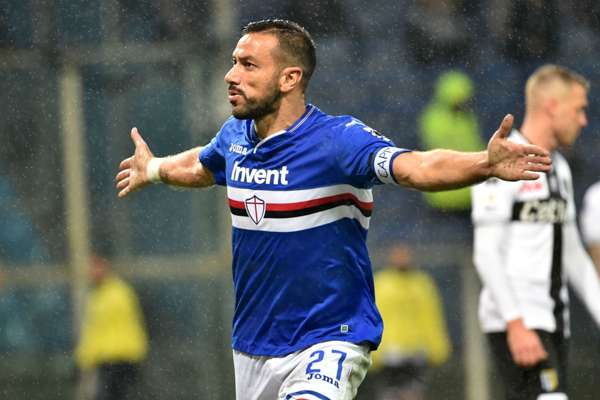 Quagliarella should be protected by UNESCO, jokes Sampdoria coach