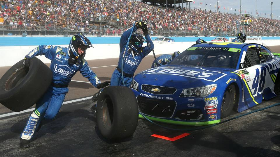 Jimmie Johnson Pit Crew