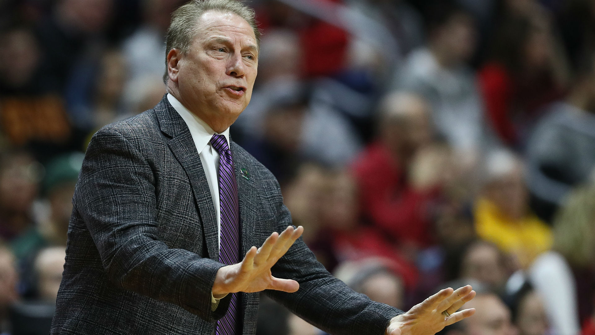 Draymond Green Tweeted His Thoughts On Tom Izzo's Meltdown Towards Aaron Henry