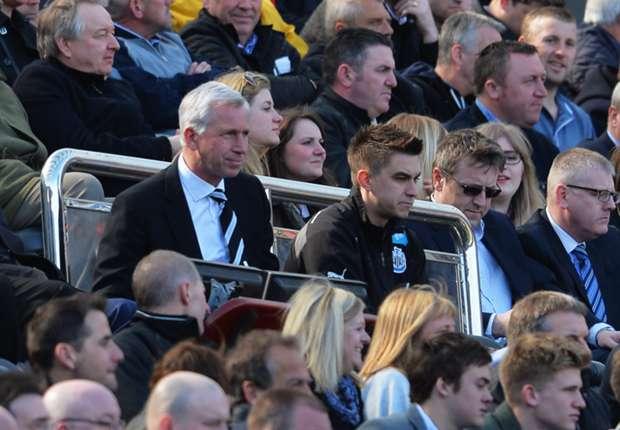 Newcastle boss Pardew stunned by late Bony winner