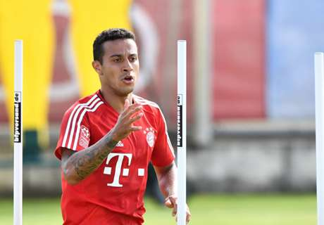 Injured Thiago out of Bayern tour