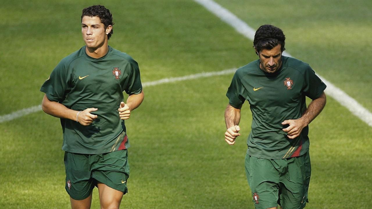 Scolari hails Figo s Cristiano Ronaldo influence