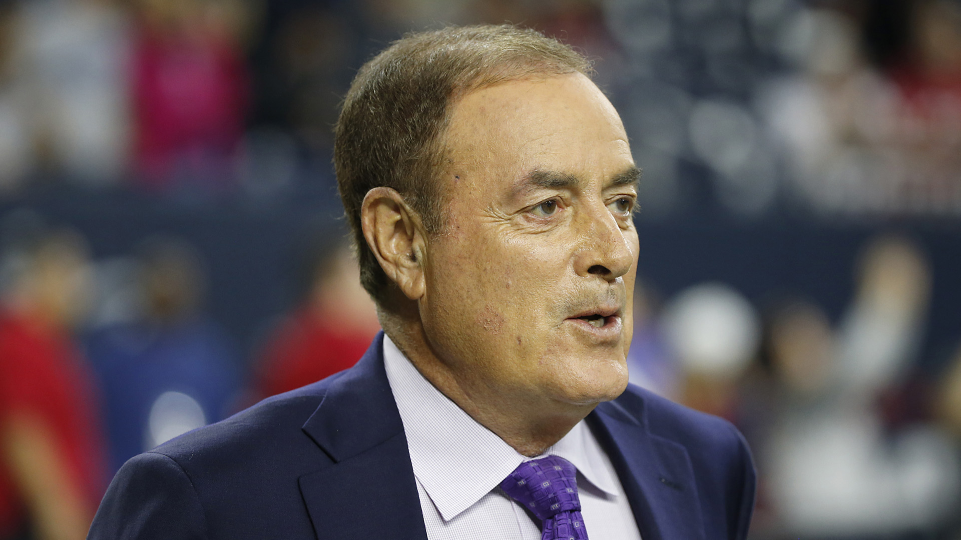 Al Michaels says Donald Trump's comments on the NFL made things worse