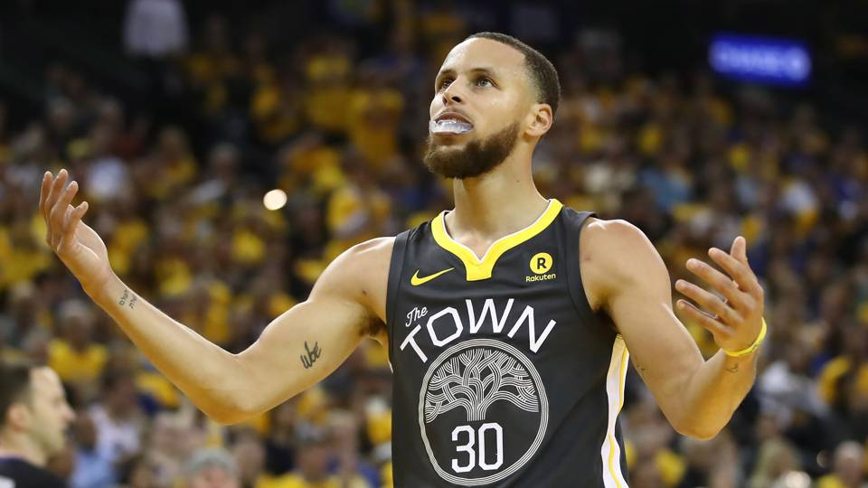 NBA Finals 2018  Stephen Curry breaks multiple 3-point records in Game 2 e08ad0950ae1