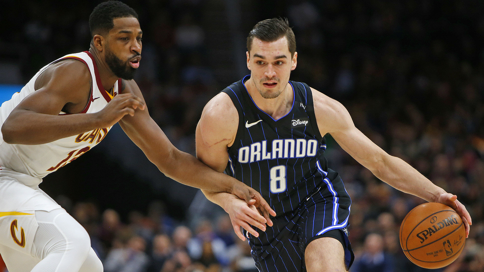 Basketball player Mario Hezonja joins the Knicks