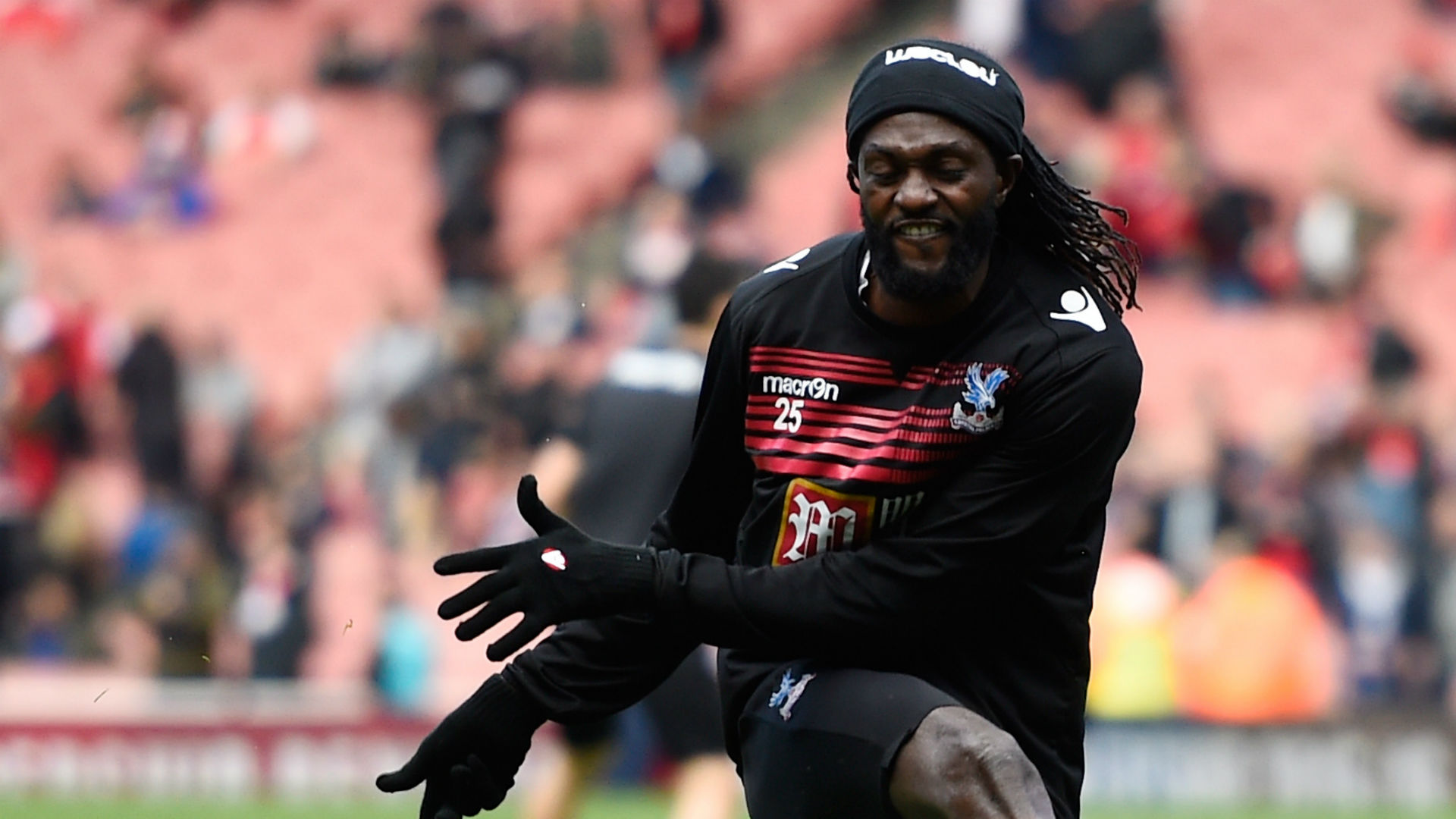 Emmanuel Adebayor the hat-trick hero in Turkey