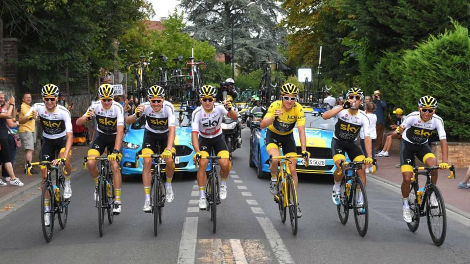 Tour de France 2018  Geraint Thomas wins after Alexander Kristoff s sprint  victory 8cde44699