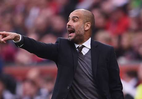 I'm not here for a tribute - Guardiola