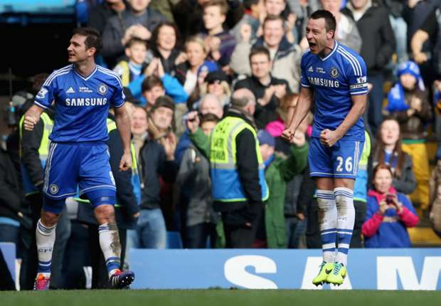 Chelsea 1-0 Everton: Last-gasp Terry saves the day