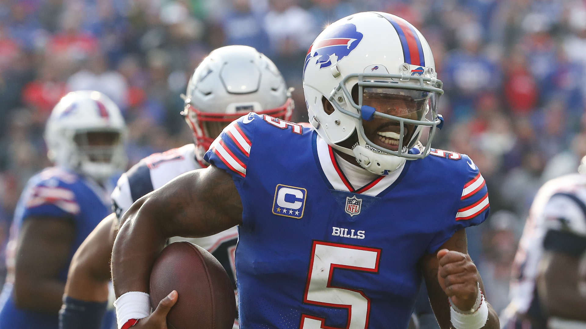 Tyrod Taylor knee injury doesn't appear to be season-ending