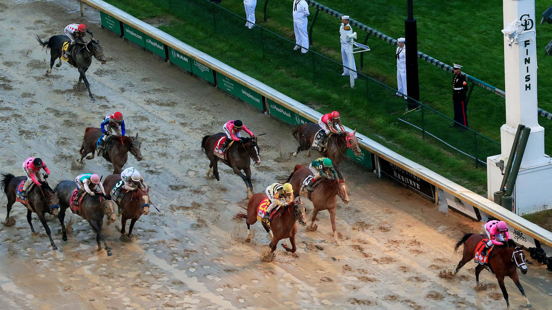 Saints react to controversial Kentucky Derby result with ironic social media post