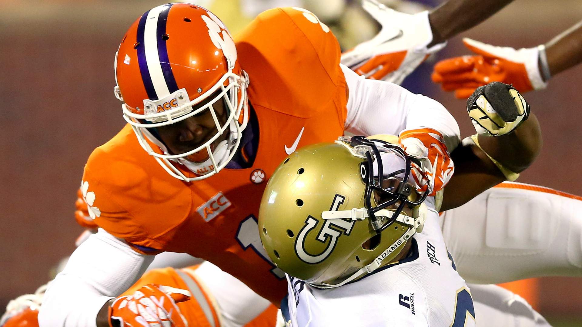 'Moped scuffle' sidelines Clemson safety