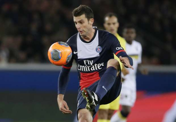 Paris Saint-Germain confirm Thiago Motta broken nose