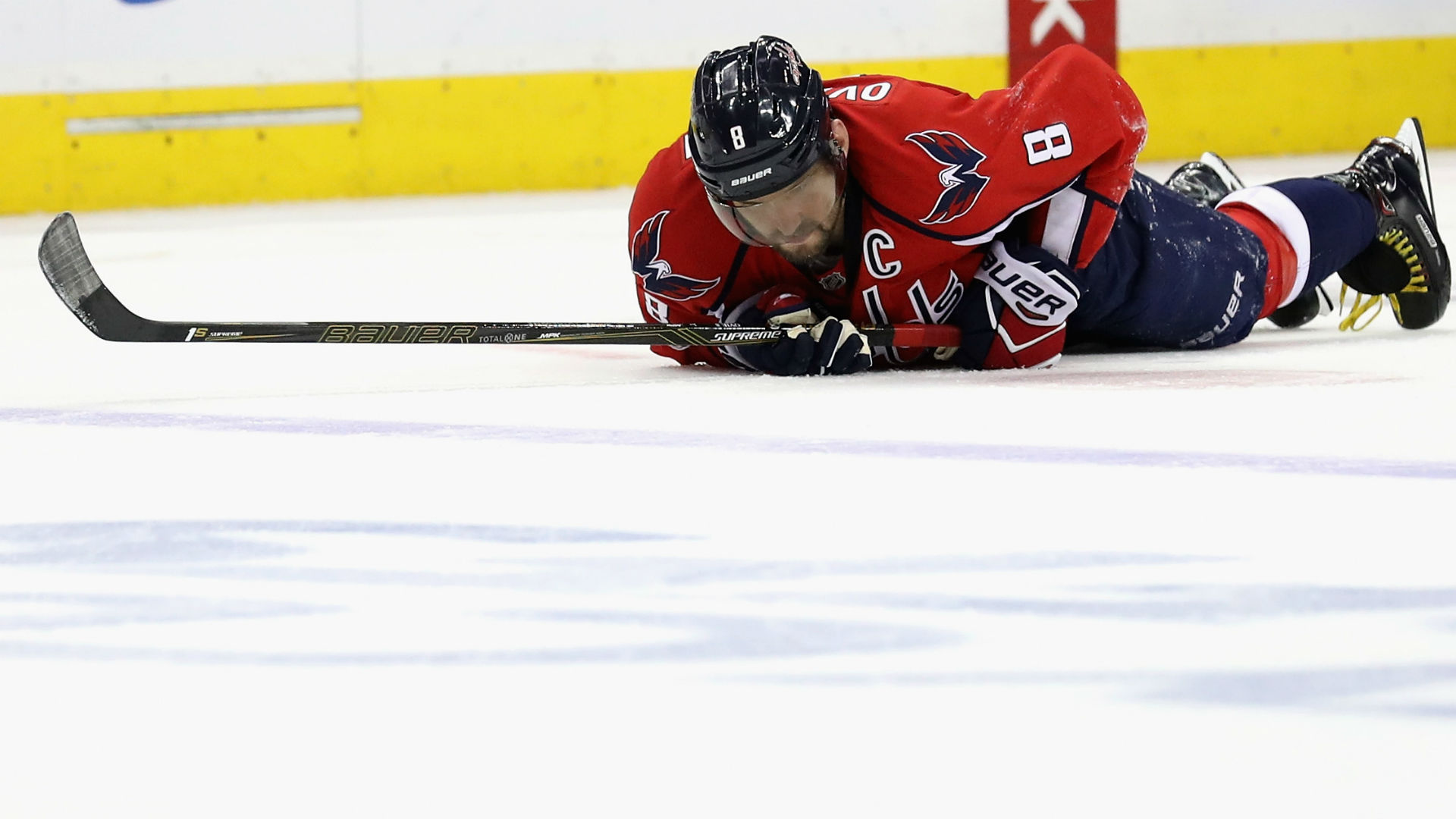 Alex Ovechkin finished playoffs with lower-body injury