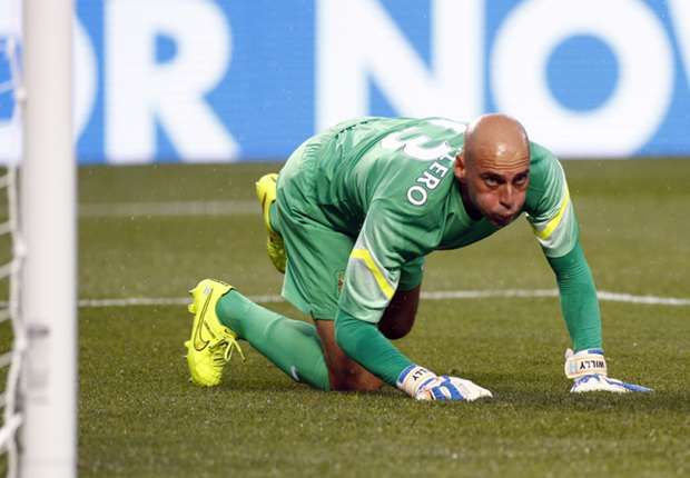 Caballero warns Hart: I've come to play
