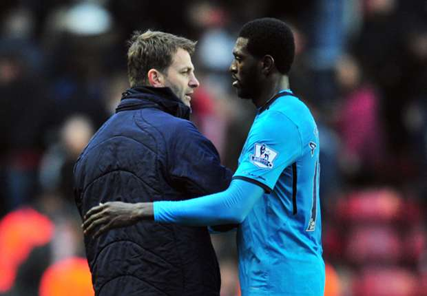 Tottenham striker Adebayor fit to face Arsenal in FA Cup