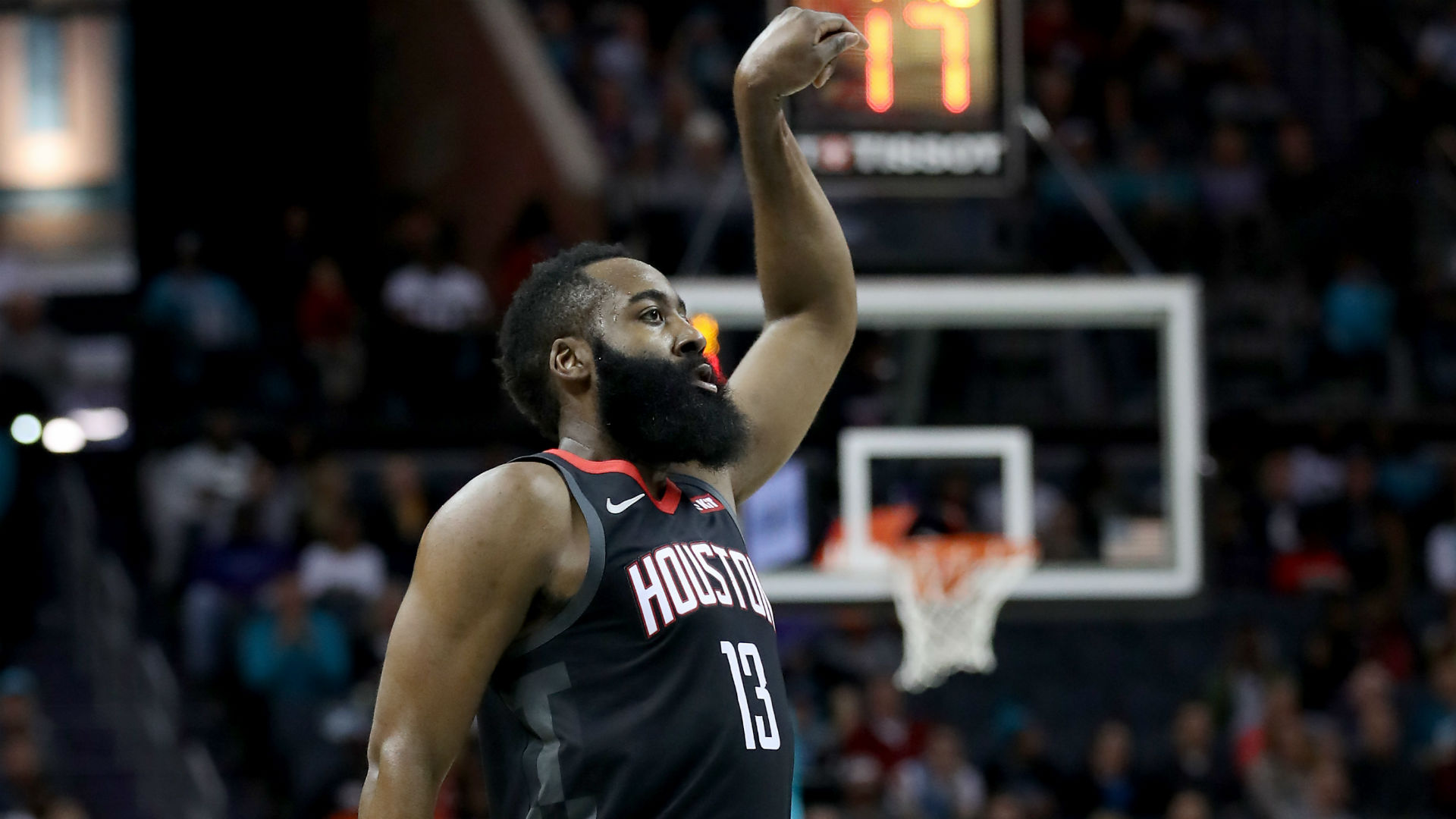 Harden to play Sunday after X-rays negative