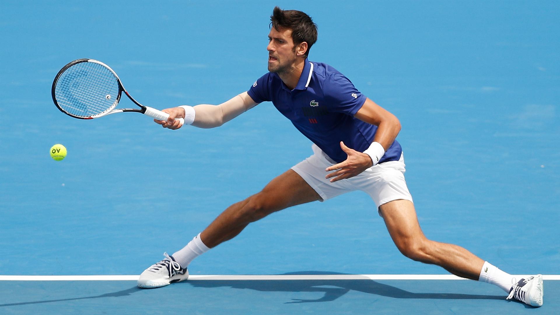 Djokovic back with a bang at Kooyong